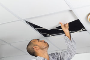 Faux plafond platre