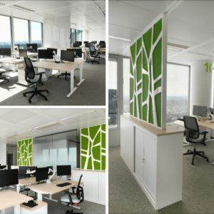Aménagement des bureaux EDF